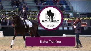 Reiten - Nicole Uphoff-Selke Nachwuchsförderung - Erstes Training mit Paula