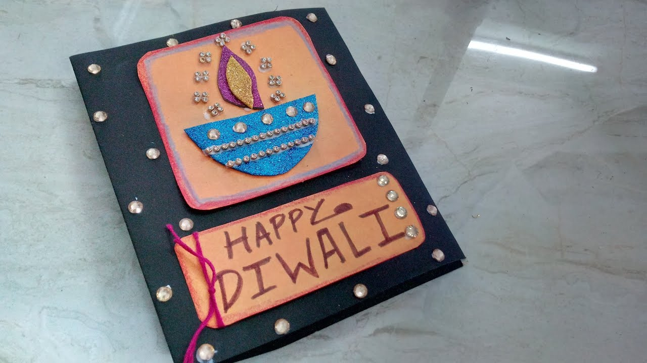 Easy diwali greeting card making idea how to craftlas youtube easy diwali greeting card making idea how to craftlas solutioingenieria Gallery