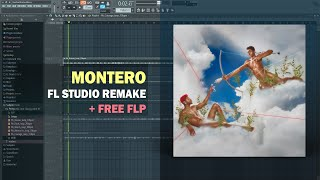 Lil Nas X - MONTERO (Call Me By Your Name) (Instrumental) + Free FLP Remake