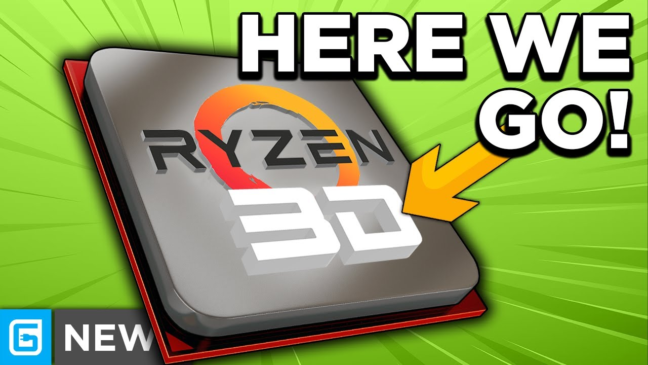 Ryzen 3D Is OFFICIALLY Coming With Huge Gaming Performance!