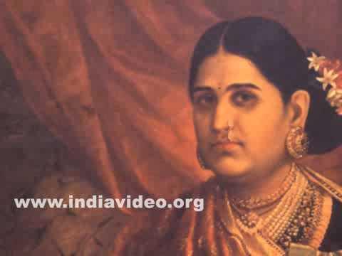 maharani lakshmi bayi by raja ravi varma youtube