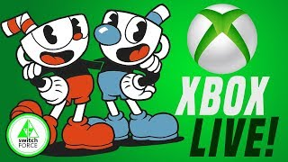Xbox Live Coming to Switch With Cuphead!