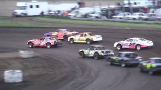 IMCA Stock Car feature Benton County Speedway 5/20/18