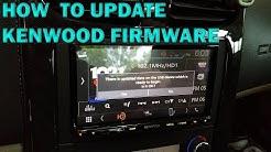 Update Kenwood Firmware