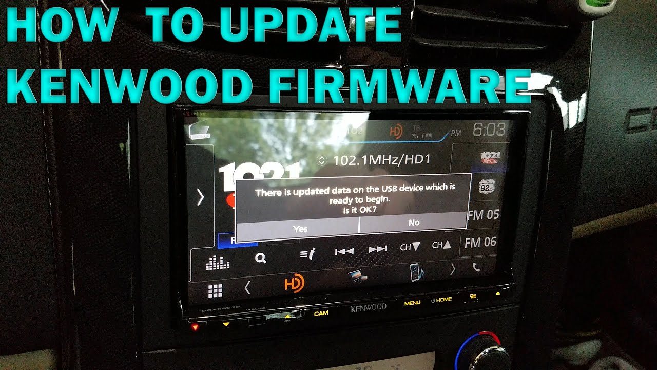 Update Kenwood Firmware