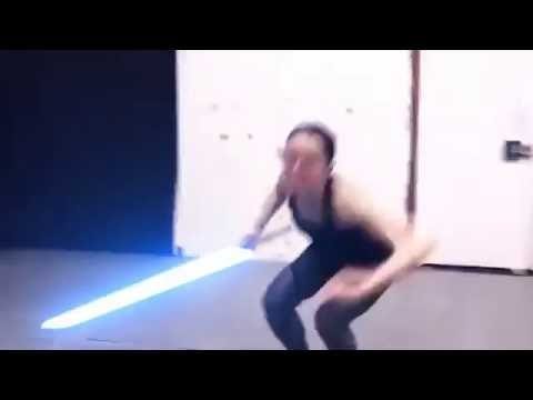 Download Youtube: Rotoscoping Test - Daisy Ridley Lightsaber Training