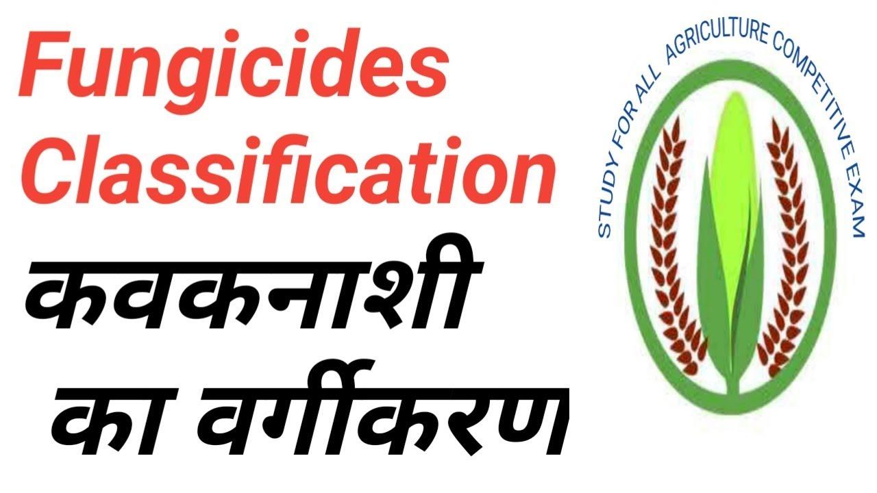 Fungicides classification