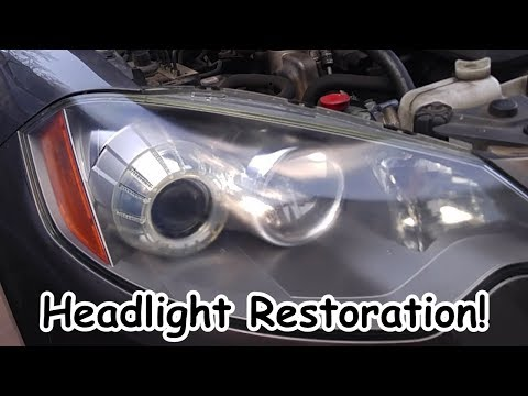 Headlight / Headlamp Restoration - Acura RDX