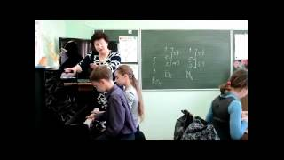 Урок сольфеджио. Построение секстаккордов от звука в 3 классе.