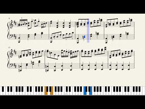 Champions League Anthem (Intro)- Piano tutorial + music sheet by Comp: Tony Britten thumbnail