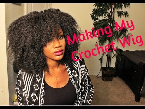 Crochet Braids Vs Wigs : Making My Crochet Wig Reggae Marley Hair HairWigHarlem - YouTube