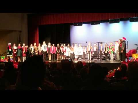Placerita Junior High School Choir Holiday Concert 2016 - Hallelujah