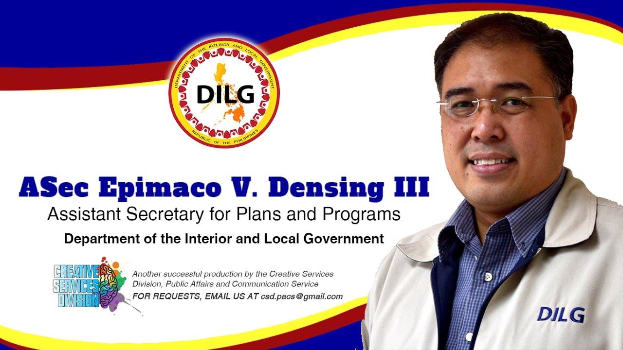 Dilg Asec Epimaco V Densing Iii