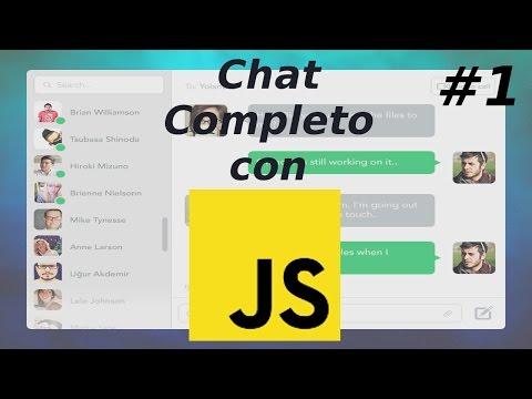Chat Completo Con Javascript, Nodejs Y Mongodb Y Heroku, Capitulo 1 | Interfaz De Usuario