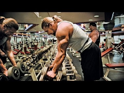 Triple H - Intense Workout At The Gym For A Set Of Muscles 2016