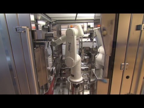 Inside the robotic pharmacy