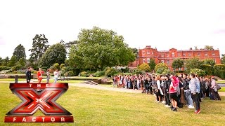 The Judges arrive at Boot Camp | The X Factor UK 2015