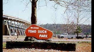 Another interesting campground - Toad Suck Park, Arkansas