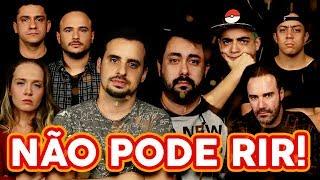 NÃO PODE RIR! com Não Salvo, Renato Albani, Lucas Selfie e Diogo Portugal