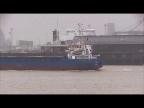 Thames Shipping by Richie Sloan, The NIKLAS small cargo ship