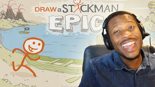 Draw a Stickman EPIC! w/Facecam - Part (1)