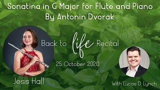 Dvorak: Sonatina in G Major | Back to Life Recital