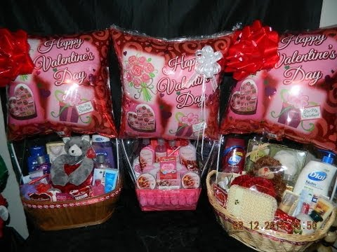 Some valentines day baskets i made. - 2/13/2012