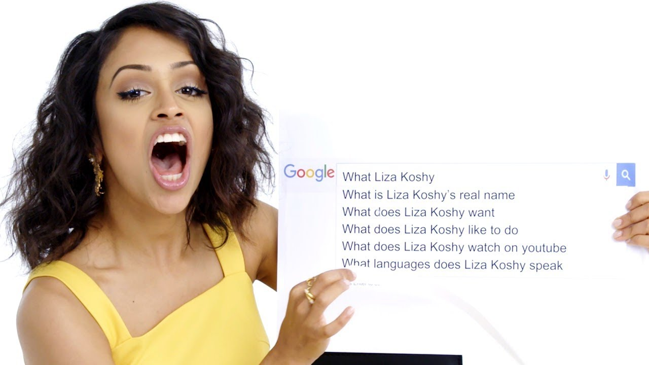 Liza Koshy Answers the Web's Most Searched Questions | WIRED