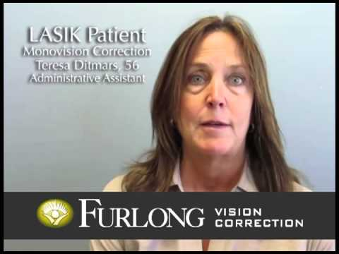 My optometrist recommended Dr. Furlong hands down – not a question!