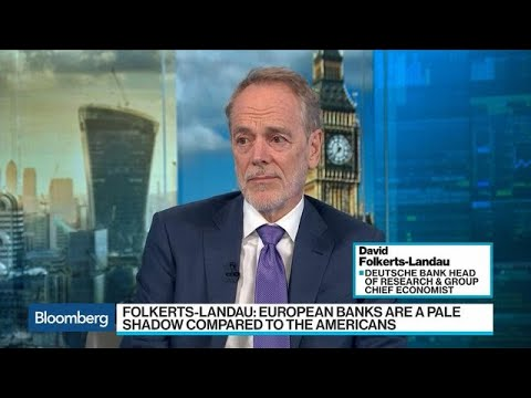 Europe's Banks Are in `Dire Straits,' Folkerts-Landau Says