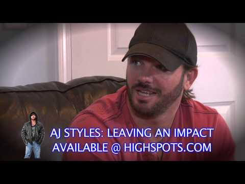 AJ STYLES: LEAVING AN IMPACT SHIPPING NOW!