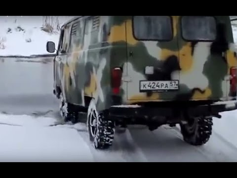 Russian Military Jeep Off road 4x4 UAZ 452