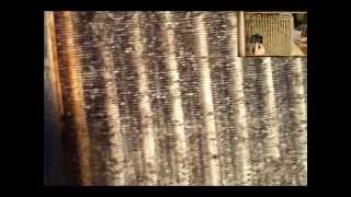 HVAC Dirty Evaporator Coil Removal, Cleaning and Reinstall in Air Conditioning Unit. Part 2