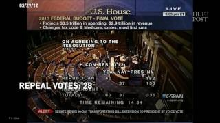 GOP Voted 74 Times To Repeal Obamacare