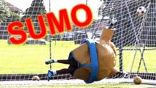 sumo goalkeeping challenge