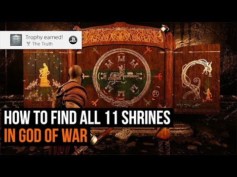 How to find all 11 God of War shrines - The Truth Trophy guide