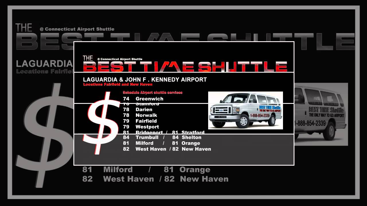 Connecticut Airport Shuttle Ct Limo Ct Shuttle Ct Car Service Jfk Lga Airport