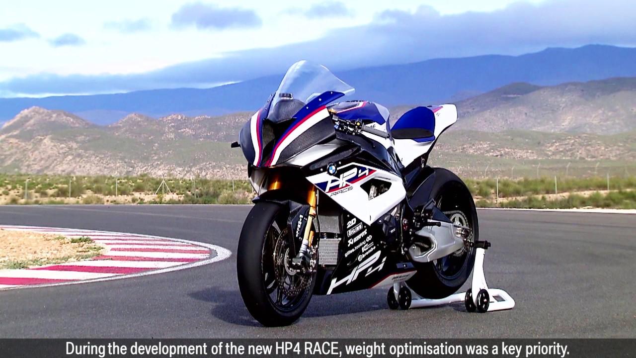 bmw hp4 race 2017 215hp 171kg ohlins fgr 2d carbon fiber frame motolink youtube. Black Bedroom Furniture Sets. Home Design Ideas