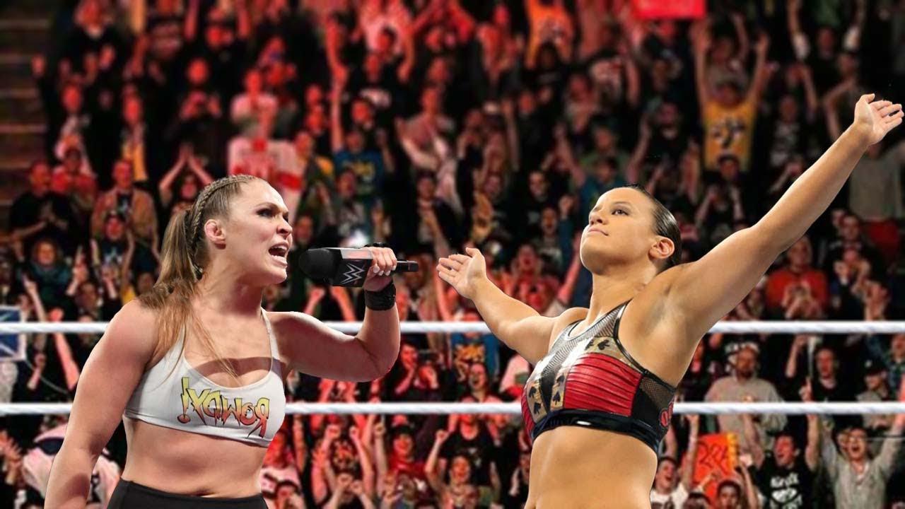 Ronda Rousey vs. Shayna Baszler  Normal Full Match