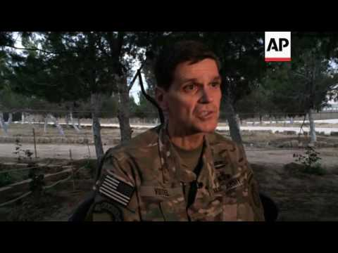 Top US commander makes surprise visit to Syria