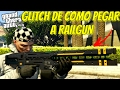 GTA V ONLINE: GLITCH DE COMO PEGAR A RAILGUN✖ARMA RARA DO GTA O CANHÃO DE RAIO✖GLITCH  PS4/PC