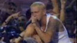 eminem the real slim shady and the way i am live mtv