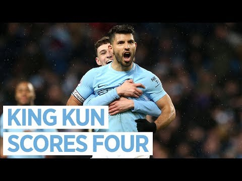 ANOTHER AGUERO HAT-TRICK | CITY 5-1 LEICESTER | Premier League 2018/18