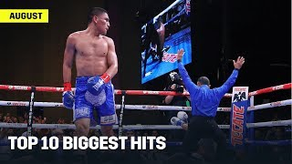 Top 10 Biggest Hits On DAZN From August 2019