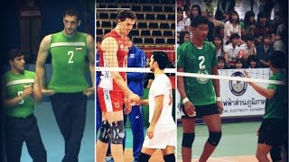 Tallest Sports Players EVER (Above 215cm) - Volleyball 2017 (HD)