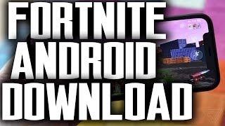 Android Fortnite Download 😍 How To Download Free Fortnite Android APK