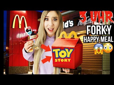 KAUFE Toy Story 4 mcdonalds HAPPY meal Niemals um 3 Uhr NACHTS