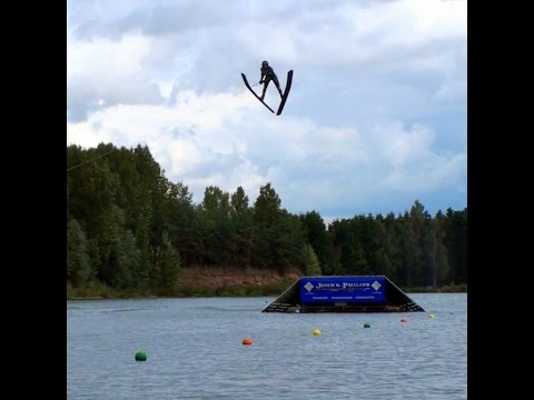 JUMP JUMP JUMP @ Hazelwood Ski World - Waterski Jumping, Freddy Kruger and more