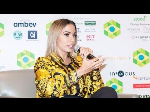 Anitta em Harvard: Brazil Conference at Harvard & MIT #ProgramaDiferente