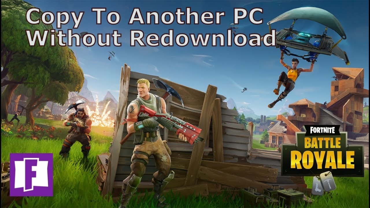 How To Copy Fortnite To Another PC | Without Epic Game Launcher
